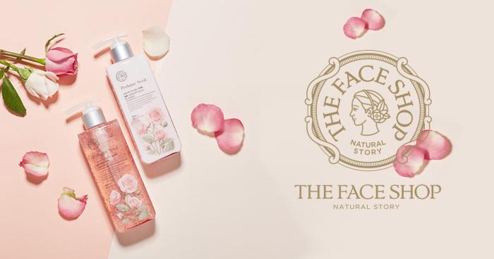 Kết quả hình ảnh cho sữa tắm the face shop perfume seed