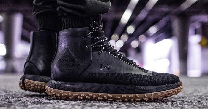 This Under Armour Shoe Series is Made From Actual Michelin Tires